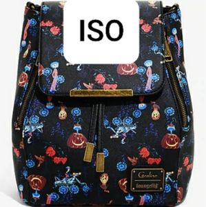 ISO NOT FOR SALE. Coraline loungefly.